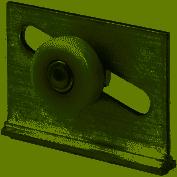 Primeline Mp6013 Slidng Shower Door Roller,assembly,pk2