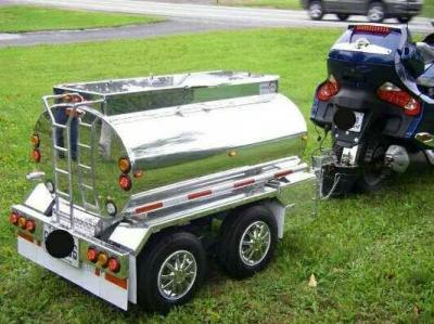 BEER WAGON | Pull behind motorcycle trailer, Motorcycle ...