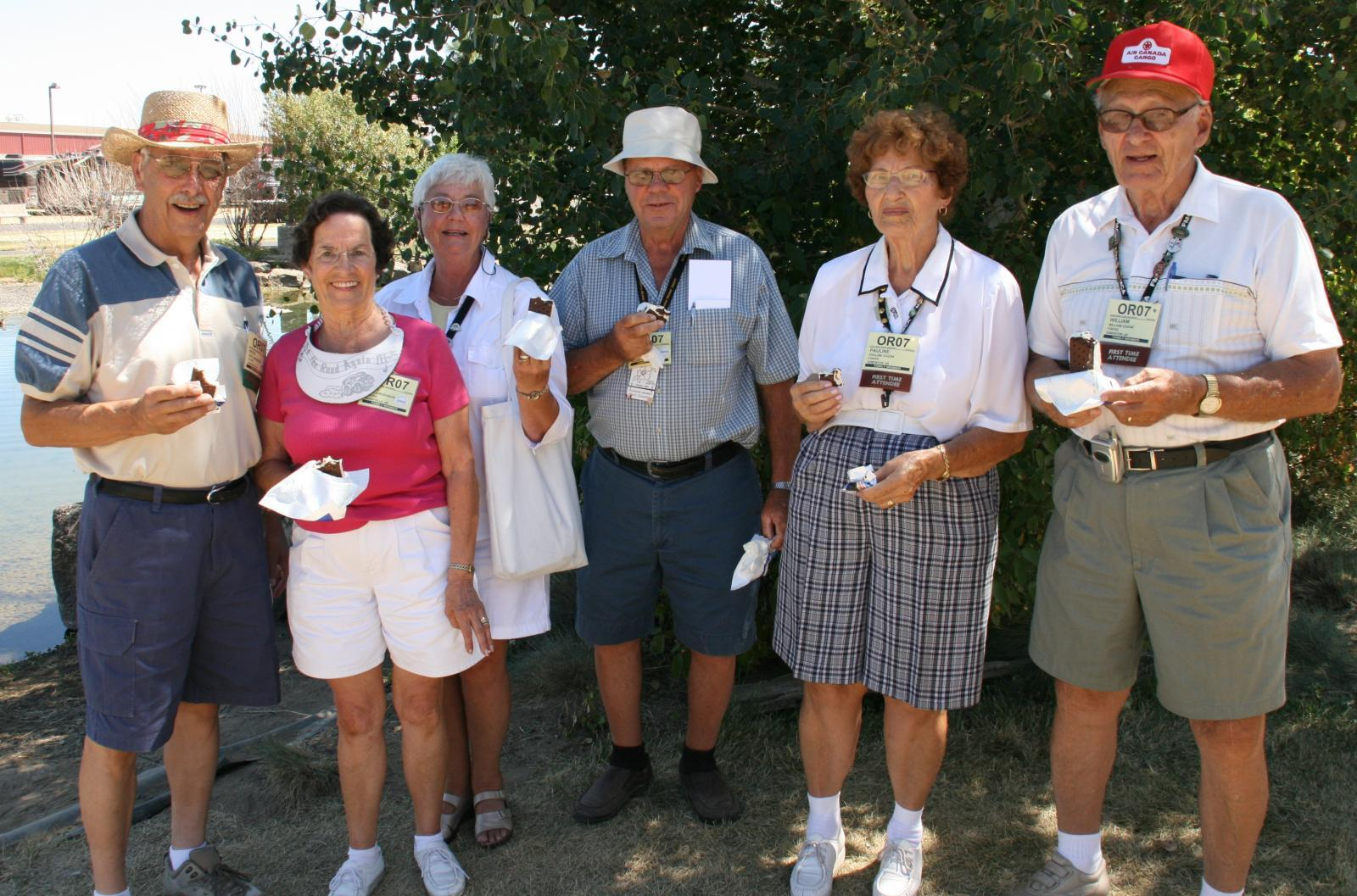 Fellowship with other motorhome owners is a hallmark of FMCA