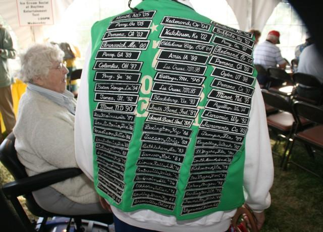 Convention vest is an eye-catcher