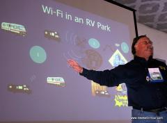 Wi-Fi Seminar at an FMCA rally
