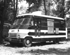 Chevrolet motorhome, 1967