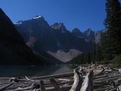 Gorgeous Peaks of Canadian Rockies! Lake Louise, Banff