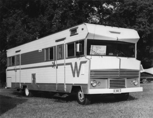 A 27-foot Winnebago Coach in 1967 photo