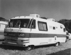 Dodge motorhome, 1966