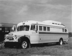 GMC converted bus