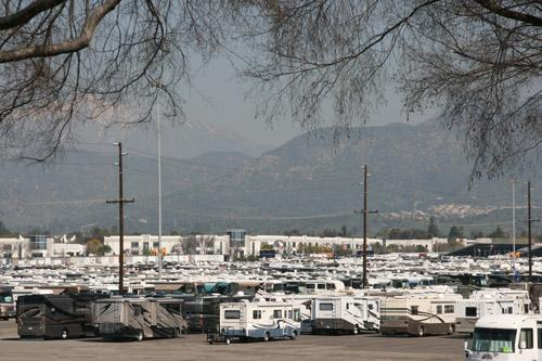 Thousands of motorhomes gather at Fairplex in Pomona