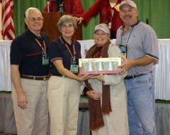 Award for convention volunteers