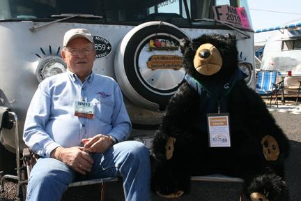 Centennial Charlie at FMCA convention
