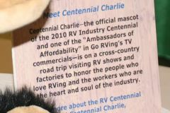 Centennial Charlie enjoys FMCA Fiesta convention
