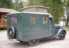 1937 Ford Motorhome