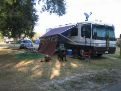 Ready for Mardi Gras weekend at Dauphin Island, Alabama