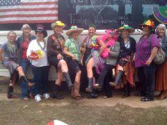 Mardi Gras Fun in Bandera, TX