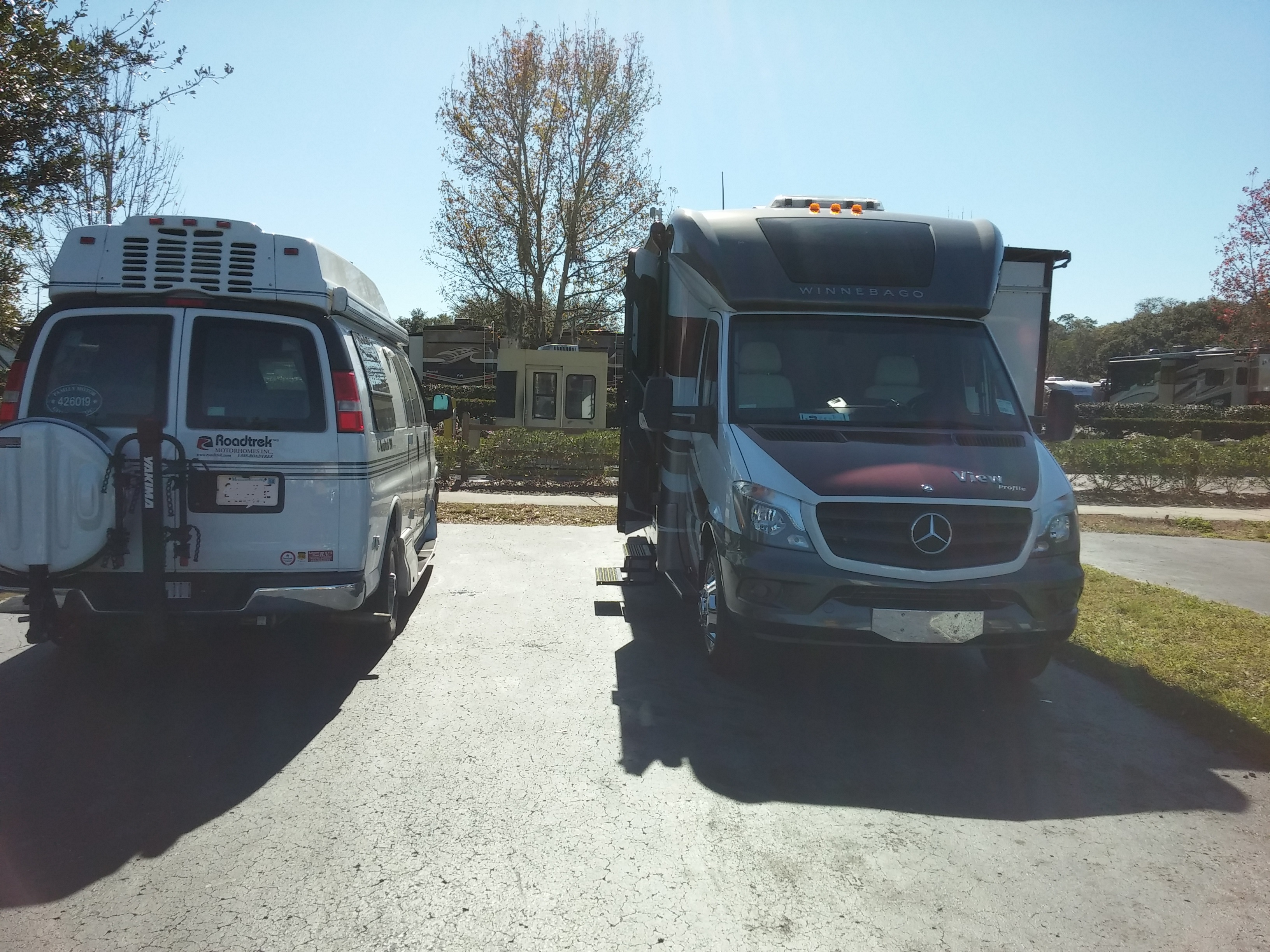 Going from a Type B to a Type C: A Small Motorhome Comparison