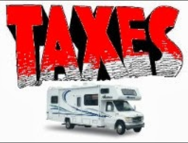 Taxes and Fees for RVs Can Be Very Confusing