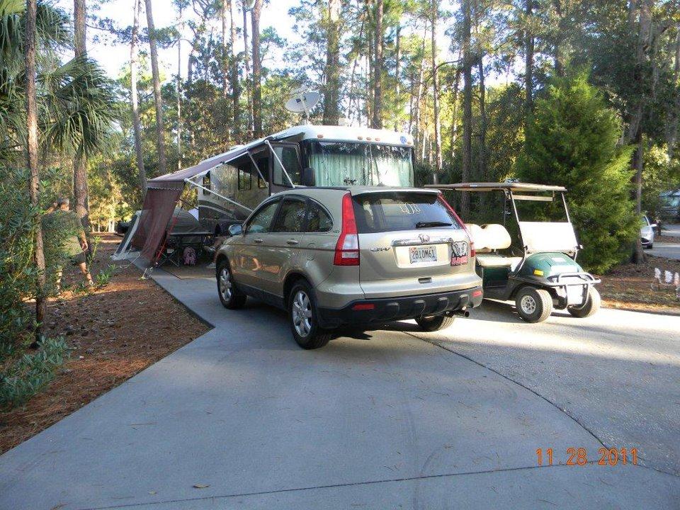 Ft Wilderness campsite 827, Nov 2011