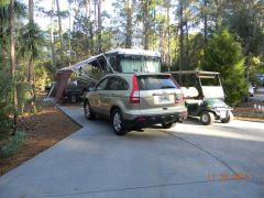 Ft Wilderness campsite 827, Nov 2011