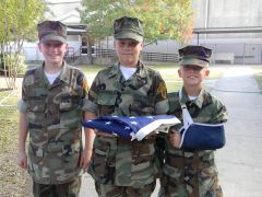 OUR YOUNG MARINES