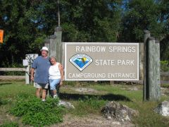 Rainbow Springs  October 24th to 29th, 2011