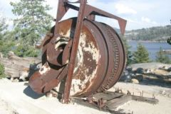A Piece of Gold Mining Equipment