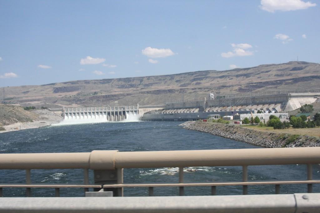 Chief Joseph Dam And Powerhouse