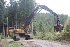 02   Log processing machine