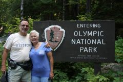 9 Olympic National Park Sign