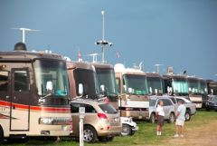 Motorhome parking