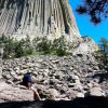 Staring at Devils Tower