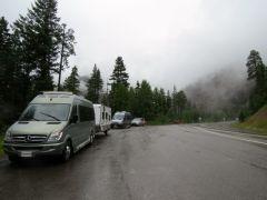 Wolf Creek caravan