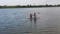 Quick swim