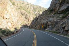 Big Thompson Road in Colorado