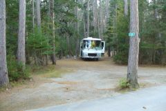 16 Our site at Cathedral Pines