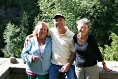 Malcolm And Terry And Marianne At Elora, ON(3)