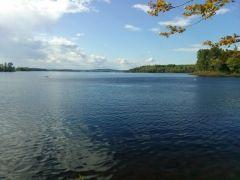 Lake Androscoggin from Beaver Brook CG