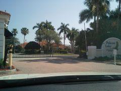 Pelican Motorcoach Resort Entrance Gate