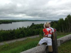 Melvin in Upstate Maine