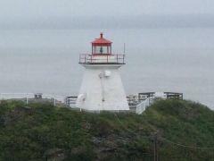 Lighthouse at Cape Enrage