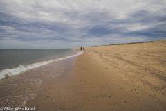Cape deserted
