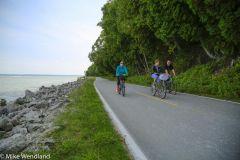 Biking Along the Shoreline
