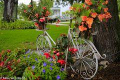Flower-filled Bike