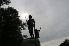 Minuteman Statue, Concord, MA          Visit our blog at:    www.monacotravels.net