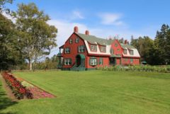 Roosevelt Cottage at Campobello, International Park.        Visit our blog at:    www.monacotravels.net