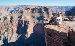 Don, close to the edge, Grand Canyon