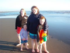 The clan At Ocean Shores, WA