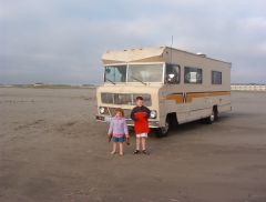 Our Old motorhome, The Titanic