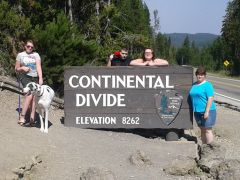 Clan At The Continental Divide