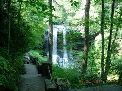Dry Falls The Highlands  North Carolina Aug 2011