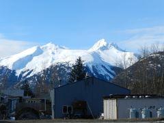 The mountains of Skagway, AK