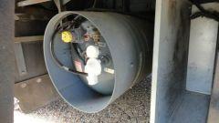 2002 Beaver Patriot Monticello - Propane Tank